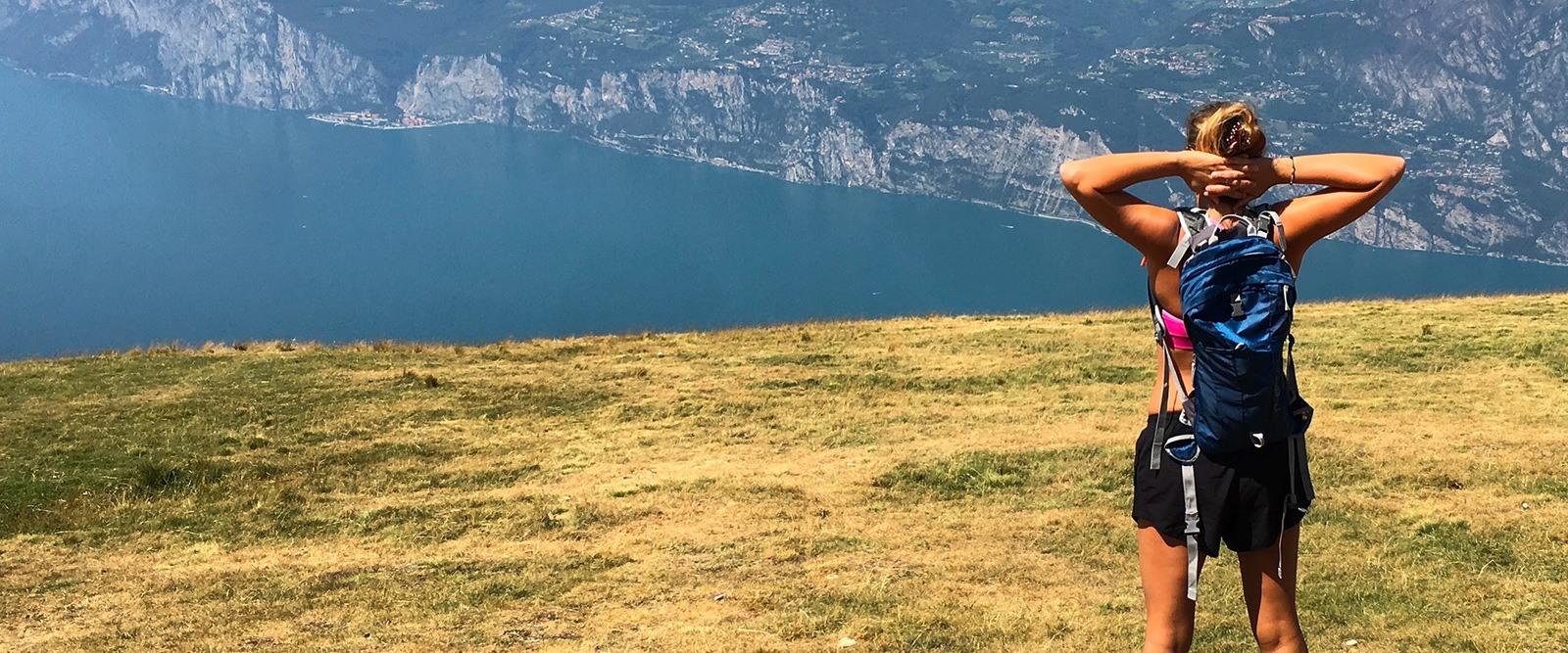 Monte Altissimo - panorama - Lago di Garda - Vallagarina - Trentino
