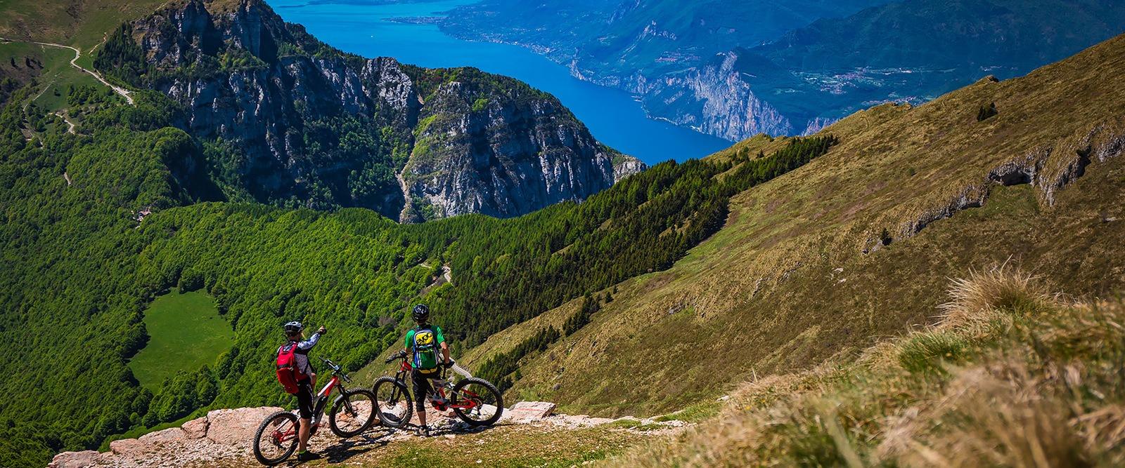E-bike - monte Altissimo - panorama - Vallagarina - Trentino